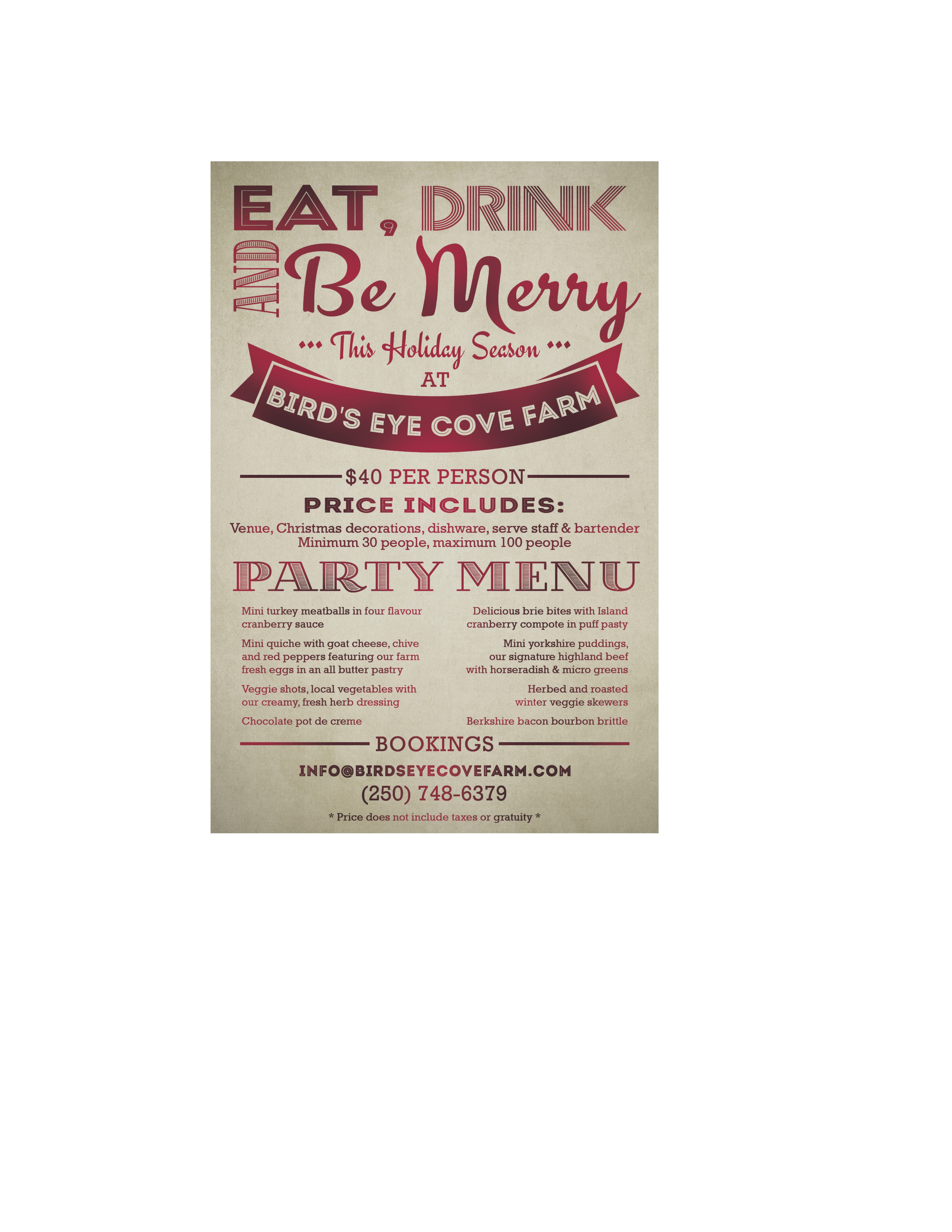 Christmas party menu 2015 jpeg